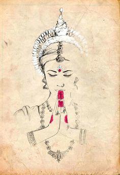 odissi illustration by gungur arts indian indian art paintings indian artwork dance paintings
