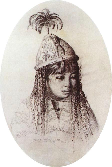 kirghiz girl