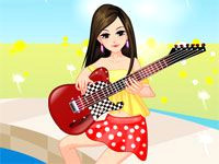 cartoons girls with guitars guitar player game games for girls games for girls
