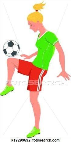 girls playing football clip art google search