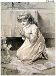 vintage postcards vintage images vintage art sweet dreams baby prayers for