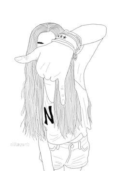 dika on outline drawingscute drawingsgirl