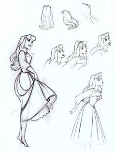 animation character design sleeping beauty animation sketches art sketches art drawings arte disney