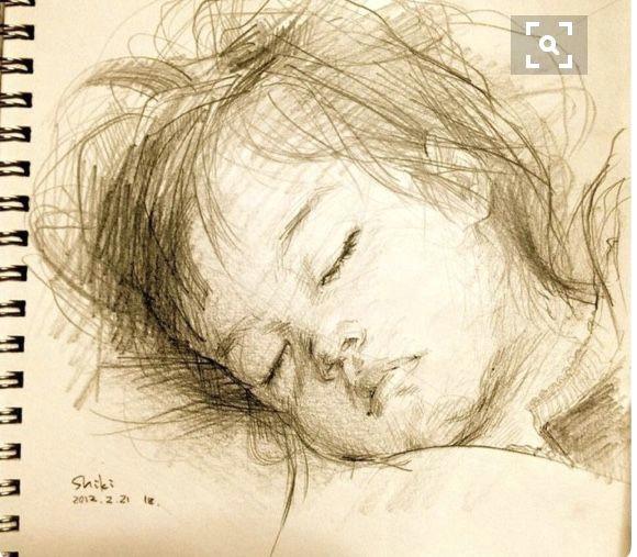 portrait sketches pencil portrait drawing sketches drawing portraits girl sleeping sleeping
