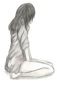 afbeeldingsresultaat voor girl walking away drawing