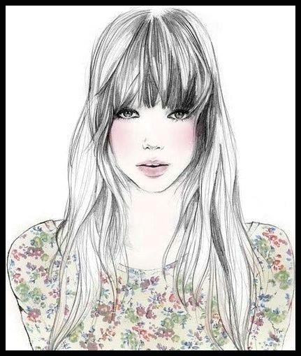 draw girl