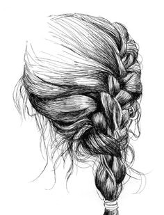 aplaceforart gaksdesigns by ian thomas perfecccct hair illustration art illustrations beautiful drawings