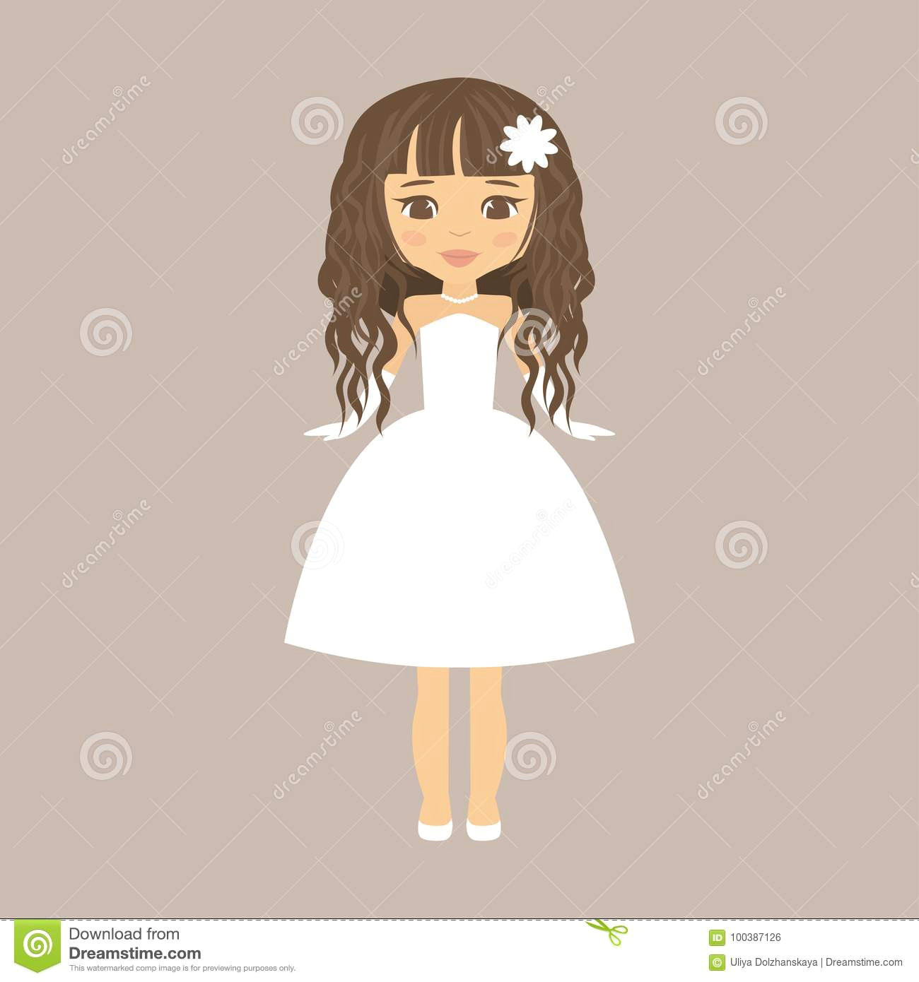 cartoon girl curly hair stock illustrations 2 489 cartoon girl curly hair stock illustrations vectors clipart dreamstime