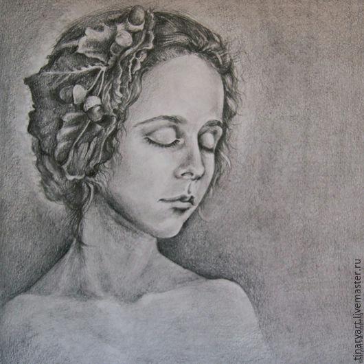 drawing girl with closed eyes tinaryart tinaryart online shopping