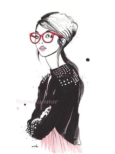 items similar to fashion illustration fashion sketch fashion wall art girly wall art gift for her fashion print teen girl wall art on etsy