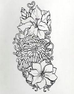 small skulls with beautiful pink gladiolus flower tattoo gladiolus flower tattoos chrysanthemum tattoo larkspur
