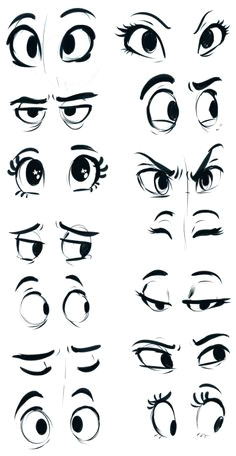 eyes by sharpie91 mas cartoon eyes drawing