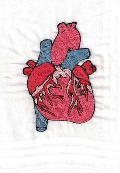 anatomical heart hand embroidery front 070514