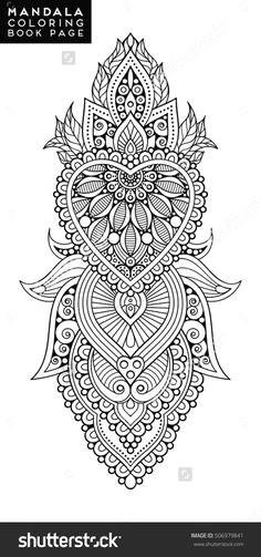 Drawing Of Henna Flower 109 Best Henna Mehndi Mandala Stenciling Images Drawings
