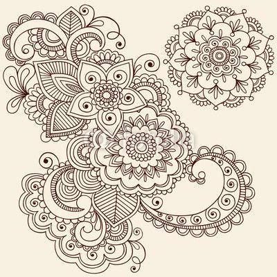 more ideas for my left leg paisley flower flower mandala henna mandala henna
