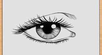 draw realistic human eyes