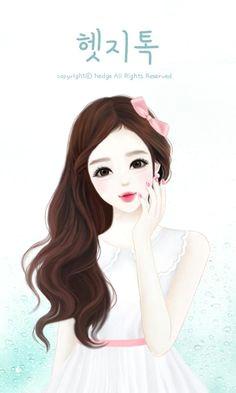 girls image lovely girl image art drawings korean anime korean art