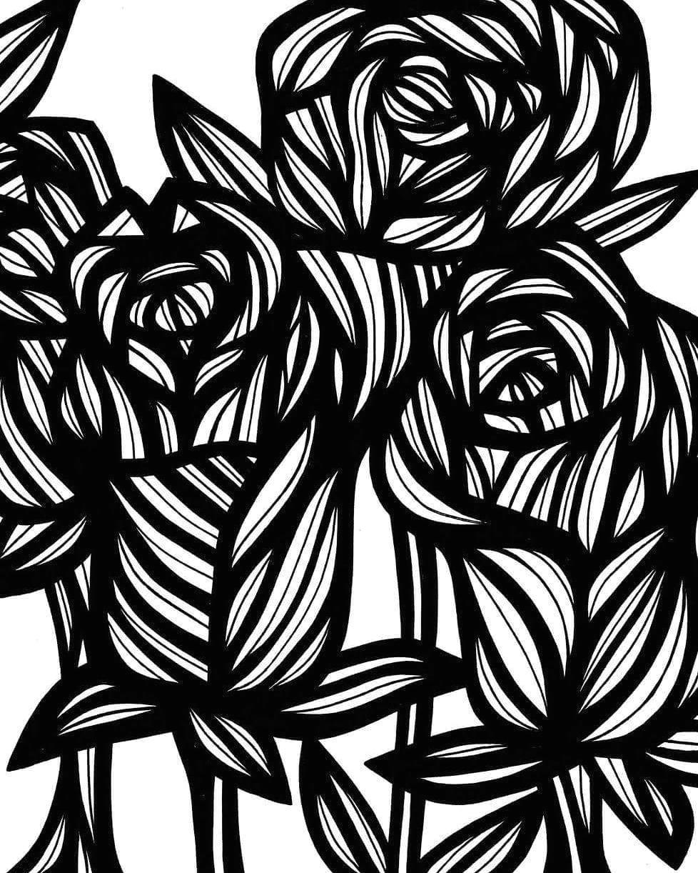 flower flowers nature plant blackandwhite art arts artist
