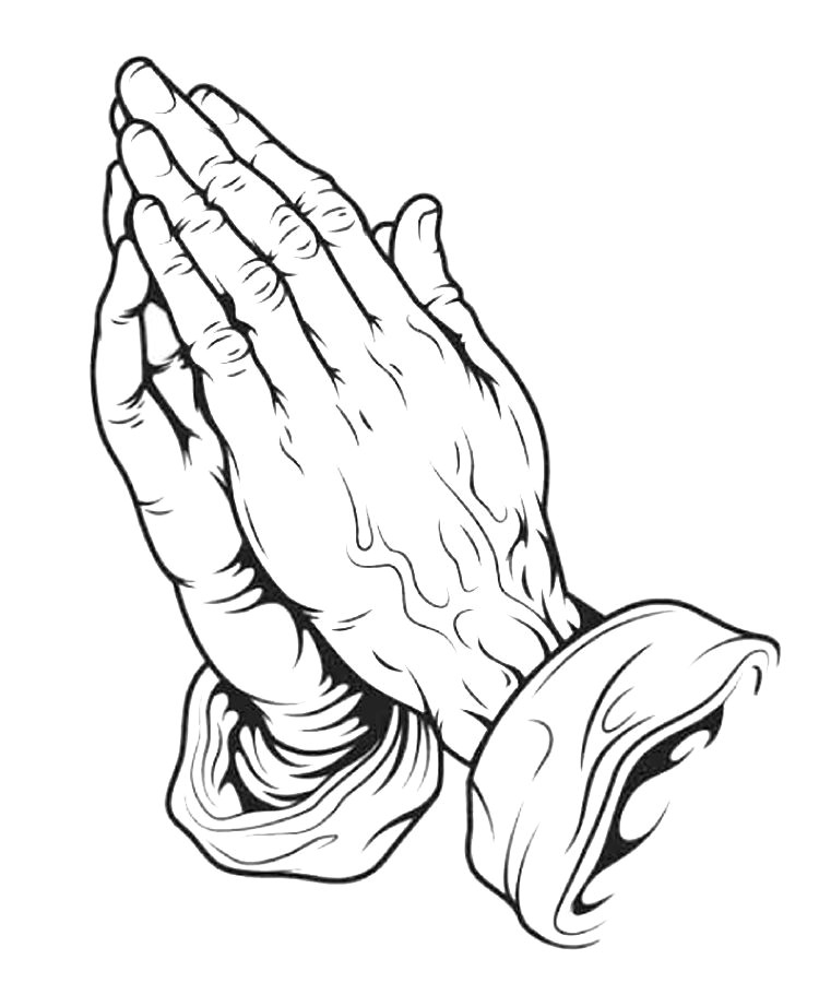 Drawing Of Praying Hands with Cross Drawings Of Crosses with Praying Hands Praying Hands Drawing