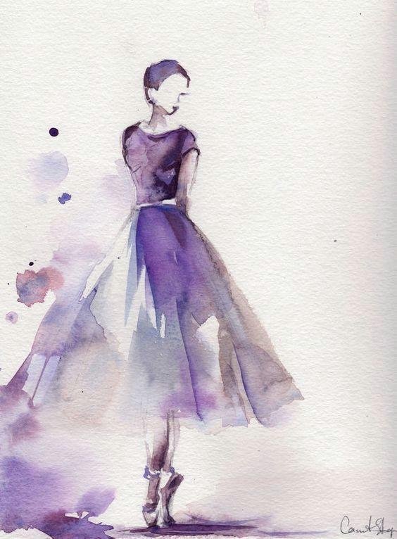 art dress and ballet image