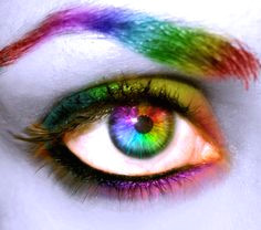 i see a colorful world ridecolorfully love rainbow rainbow eyes rainbow things