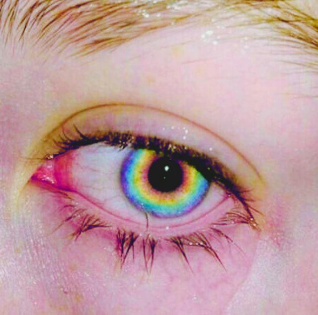 Drawing Of Rainbow Eye Eye Aesthetic Rainbow Everything Rainbow Aesthetic Rainbow Eyes
