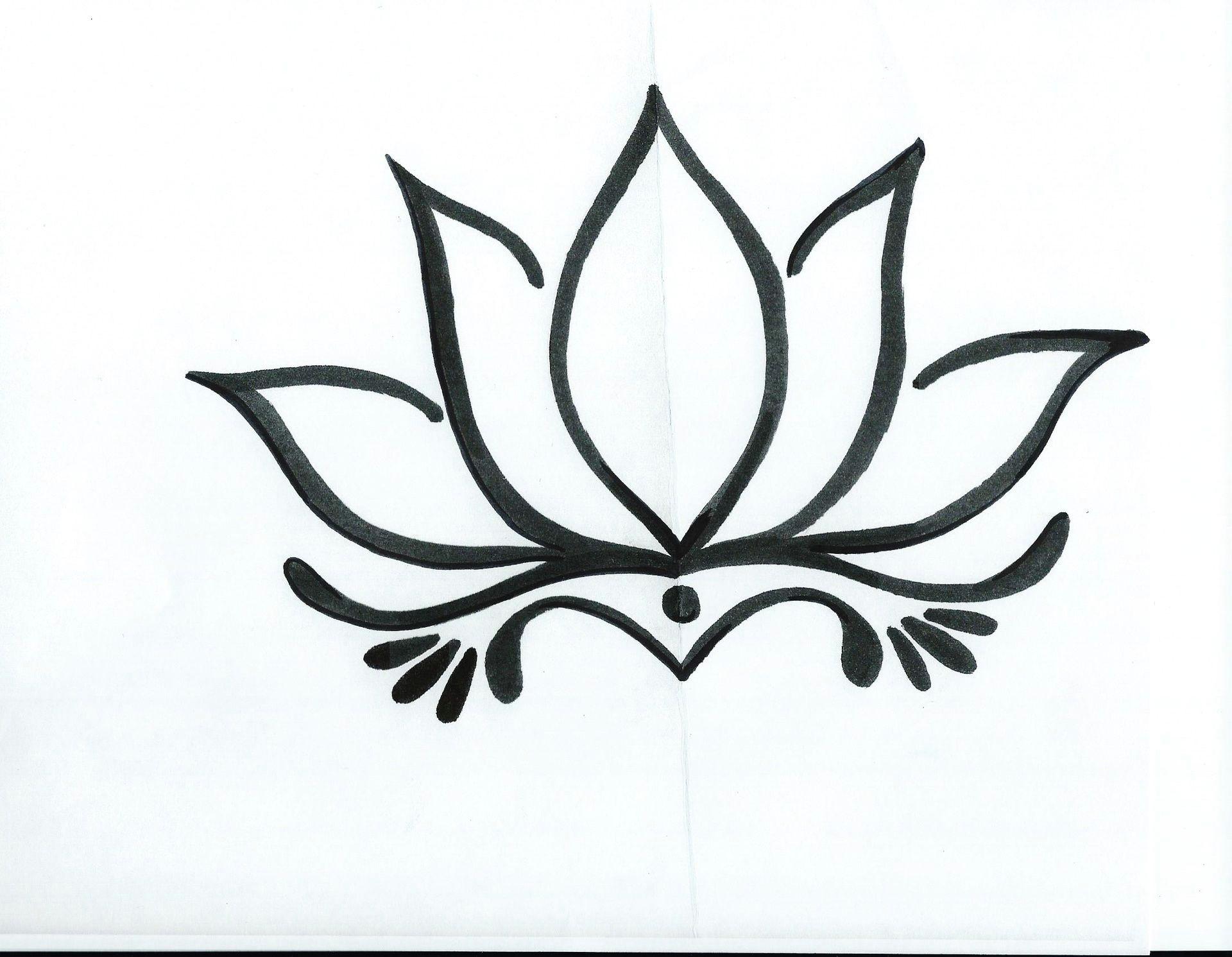 ascending lotus tattoo