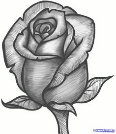 how to draw a rose bud rose bud step 11 drawing of a rose