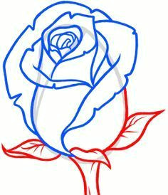 how to draw a rose bud rose bud step by step flowers pop culture free online drawing tutorial added by dawn february 9 2013 6 48 11 pm