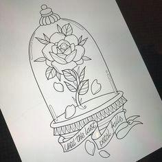 beauty and the beast bell jar for lyssa tomorrow hopefully really looking forward to