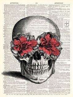 skull flower drawing google search flower skull zentangle pink headphones vintage tattoos