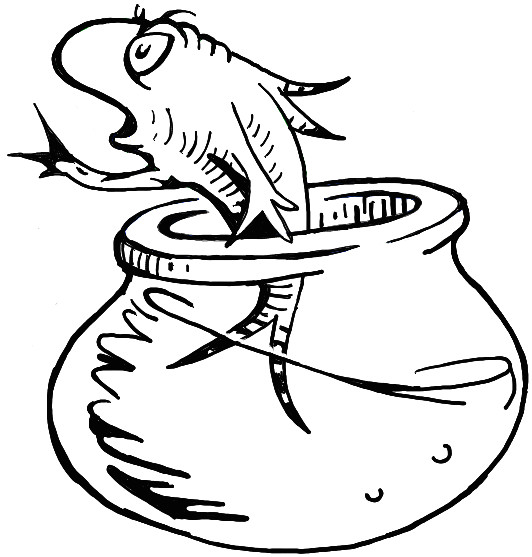 how to draw the fish from the cat in the hat dr seuss book