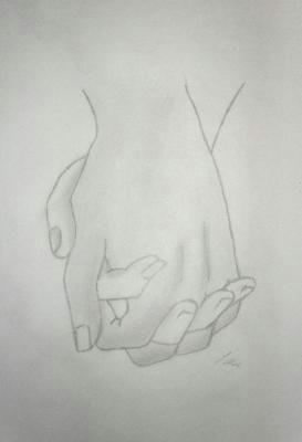 1492d159b98f40492cdc7b07d5af9de3 pencil drawings hands hands drawing holding jpg