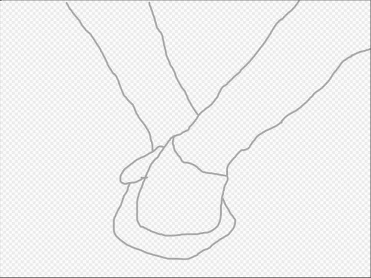 image titled draw a couple holding hands method 1 step 2 png