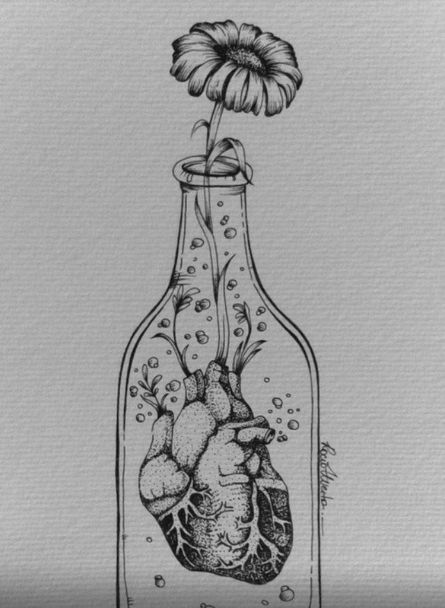 heart drawings drawings of flowers music drawings hipster drawings art flowers