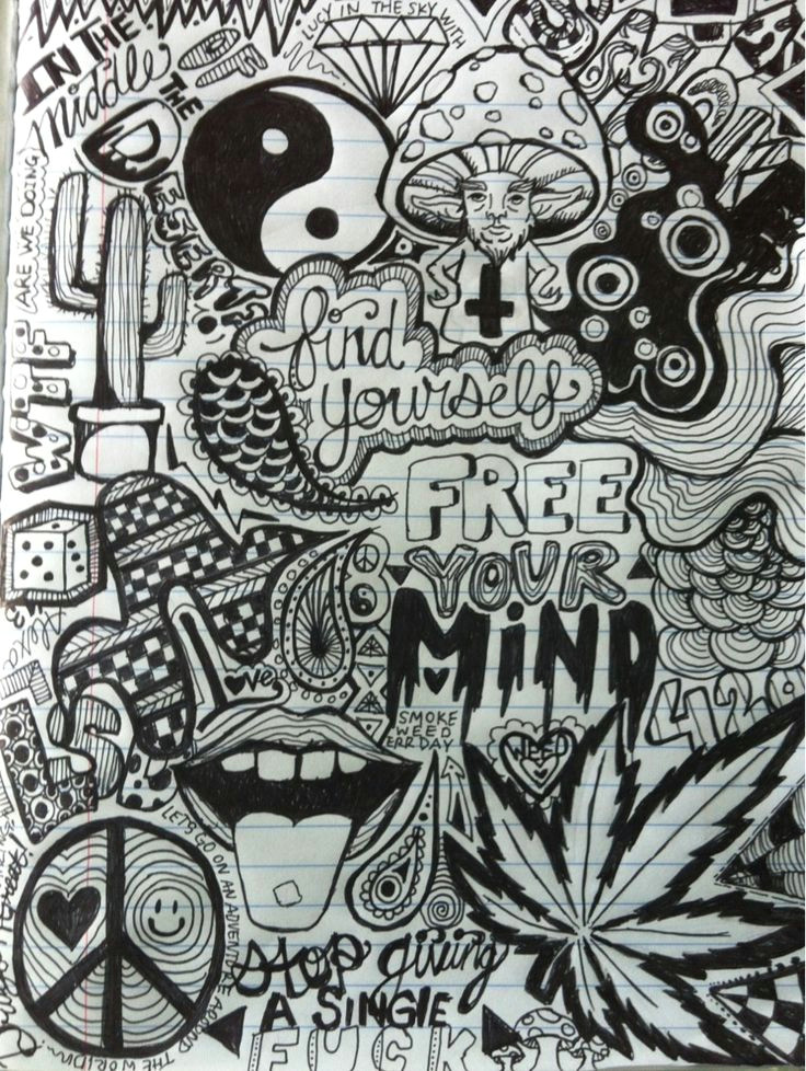 the first page to my drug experience journal d o p e a r t drawings doodles art