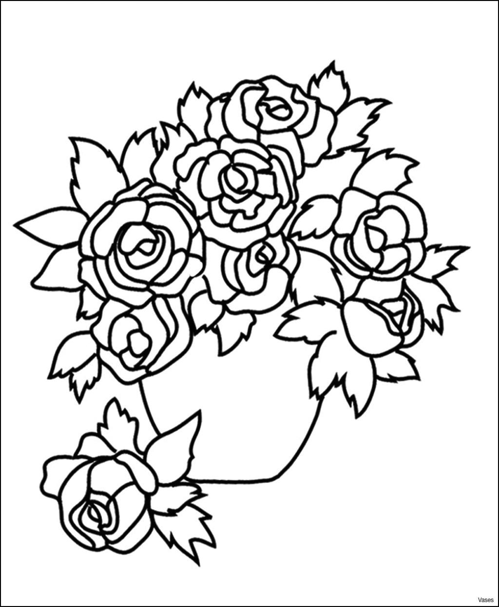Drawing Picture Of Flower Vase Flower Garden Near Me Fresh Best Vases Flower Vase Coloring Page