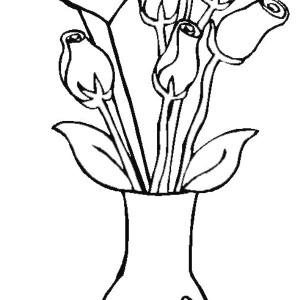 300x300 decorative flower vase coloring page coloring sky flower in vase drawing at getdrawings free for personal use