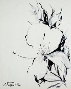 jasmine flower original drawing black and white art by canotstop 38 00 jasmine tattoo jasmine