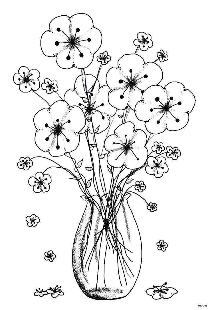 coloring pages cool vases flower vase coloring page pages flowers in a top i 0d