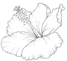 flower drawings for tattoos hibiscus flower tattoo by metacharis on deviantart hibiscus drawing hawaiian