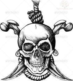 pirate skull tattoo designs pirate flag tattoo pirate skull tattoos pirate skull and