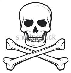 Drawing Pirate Skull and Crossbones 66 Best Skull and Crossbones Crossed Swords Images Pirate Banner