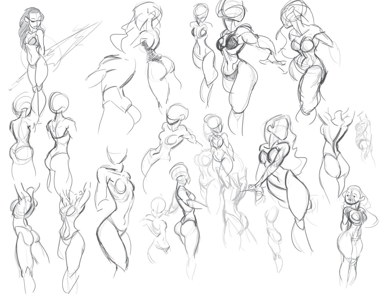 http malconpierce tumblr com image 138143266169 figure sketching