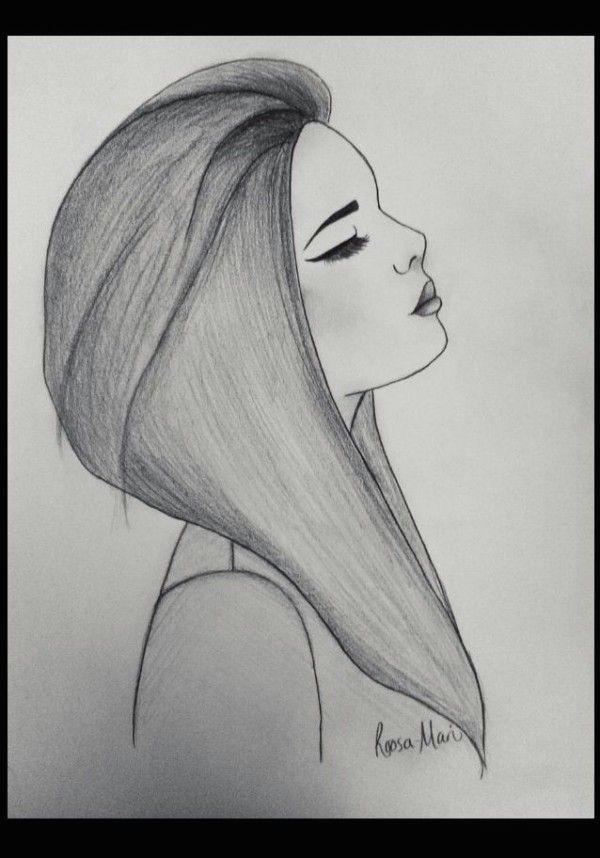 image result for sad girl drawings tumblr