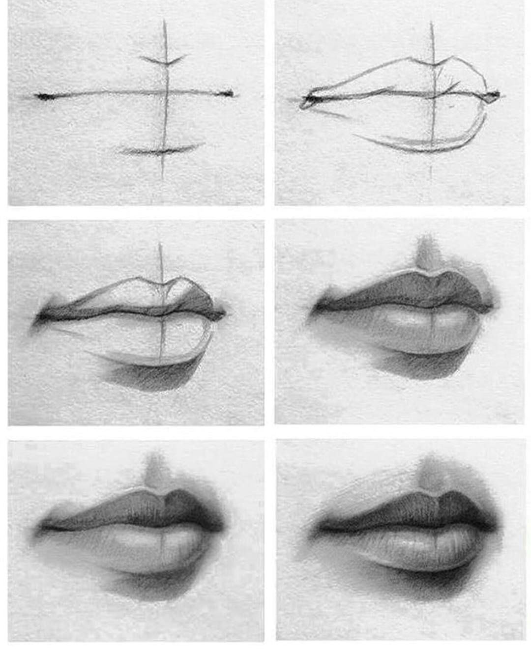 Drawing Real Things Tutorial Of Drawing Lips Check It Out if You Re Having Problems