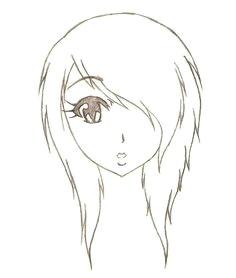easy emo anime drawings hd