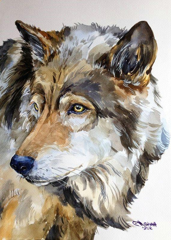 drawing pencil portraits gris loup portrait faune animal aquarelle par alisiasilverart discover the secrets of