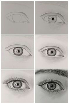 how to draw realistic eye step by step visit my youtube channel to learn more