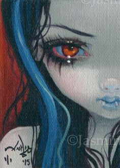 weird drawings art drawings jasmine becket griffith gothic fairy gothic vampire